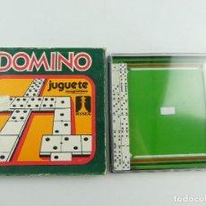 Jogos de mesa: VINTAGE JUEGO DE MASA DOMINO JUGUETES MAGNETICOS RIMA ESPAÑA. Lote 285269113