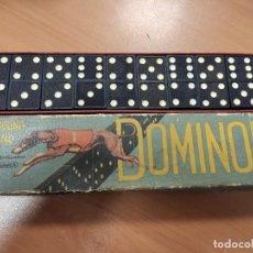 Juegos de mesa: ANTIGUO DOMINO INGLES DOMINOES, CREYHOUND BRAND. Lote 285816118