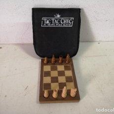 Jogos de mesa: CURIOSO AJEDREZ PARA ENTRENAMIENTO DE JUGADAS O SIMILAR, EN SU ESTUCHE, DON GREEN, 1995, DE MADERA. Lote 286610528