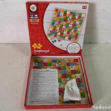 Jogos de mesa: JUEGO DE MESA, SNAKES AND LADDERS, BIGJIGS TOYS, COMPLETO, EN CAJA ORIGINAL. Lote 286636478