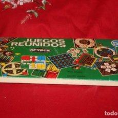 Juegos de mesa: JUEGOS REUNIDOS. Lote 287698393