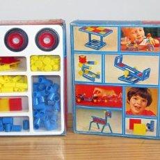 Juegos de mesa: PLASTICANT 400 - ANTIGUO JUEGO DE CONSTRUCCION - NUEVO Y PRECINTADO - AÑOS 70/80. Lote 287716538