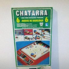 Juegos de mesa: CHATARRA - ANTIGUO JUEGO DE MESA HABILIDAD - SCALA - NUEVO A ESTRENAR - AÑOS 70. Lote 287951158