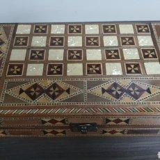 Juegos de mesa: AJEDREZ MARQUETERIA GRANADINA. Lote 288113808