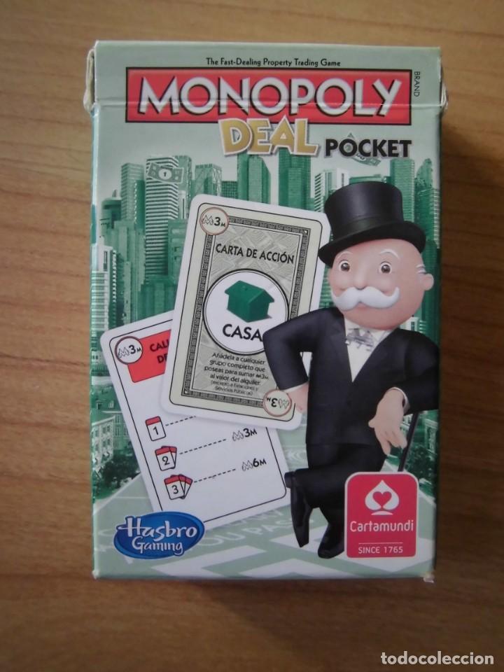 MONOPOLY DEAL POCKET CARTAMUNDI HASBRO (Juguetes - Juegos - Juegos de Mesa)