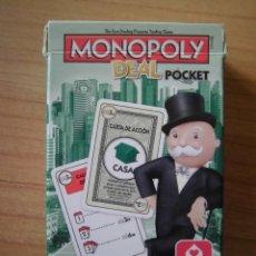 Juegos de mesa: MONOPOLY DEAL POCKET CARTAMUNDI HASBRO. Lote 289618303
