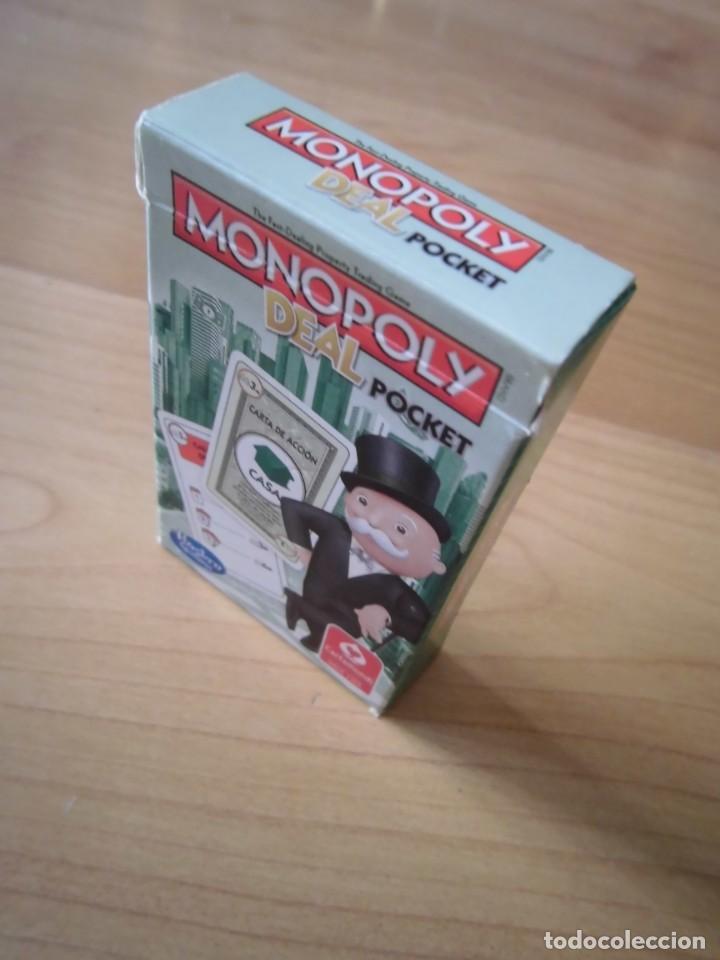 Juegos de mesa: MONOPOLY DEAL POCKET CARTAMUNDI HASBRO - Foto 3 - 289618303