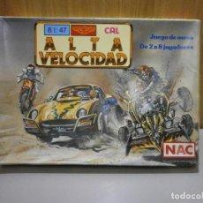 Juegos de mesa: DIFICIL JUEGO NAC SERIE AVENTURAS ALTA VELOCIDAD COMPLETO. Lote 289804678