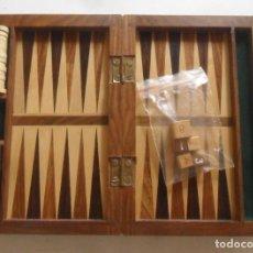 Giochi da tavolo: BACKGAMMON * CAJA DE MADERA. Lote 290775418