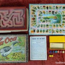 Juegos de mesa: PAREJA DE JUEGOS. BOLIDO PEALCON Y JUEGO DE LA OCA. CIRCA 1940.. Lote 293354373