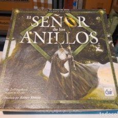 Juegos de mesa: EL SEÑOR DE LOS ANILLOS ( JUEGO DE MESA ) PARECE COMPLETO. Lote 293511503