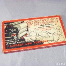 Juegos de mesa: JUEGO DE MESA PRESS - CONTROLE CON HABILIDAD LA PRENSA MUNDIAL. Lote 293829123