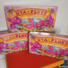 Giochi da tavolo: RESERVADO LOTE DE 3 UVA-PLOFF.JUEGO DE PLASTILINA CON TABLERO.TONKA-MB-PARKER 1992.SIN ABRIR.. Lote 295466643