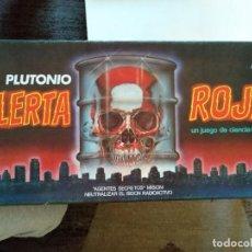 Juegos de mesa: ALERTA ROJA CEFA. Lote 295487953