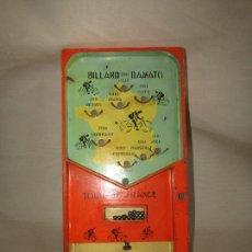 Juegos de mesa: ANTIGUO JUEGO PING-BALL BILLARD TOUR DE FRANCE DE DAMATO EN MADERA Y METALES. Lote 295711208