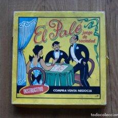 Juegos de mesa: ANTIGUO JUEGO DE PALE DE LA CIUDAD DE MADRID. Lote 295810158
