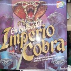 Juegos de mesa: EN BUSCA DEL IMPERIO COBRA.CEFA TOYS.. Lote 296583998