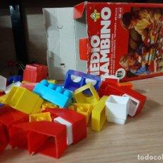 Juegos de mesa: MEDIO BAMBINO JUEGO CONSTRUCCIÓN DISET. Lote 296767108