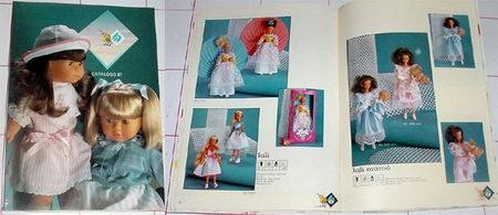 ANTIGUO CATALOGO DE MUÑECAS BB 1987 (Juguetes - Catálogos y Revistas de Juguetes)
