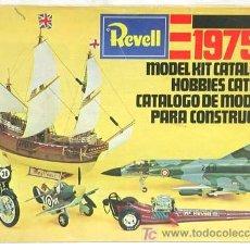 Brinquedos antigos: CATALOGO REVELL MODELISMO MODEL KIT CATALOG HOBBIES CATÁLOGO MODELOS CONSTRUCCIÓN 1975. Lote 3300088