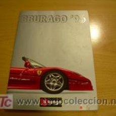 Juguetes antiguos: CATALOGO DE MINIATURAS BBURAGO AÑO 1996. Lote 26915078