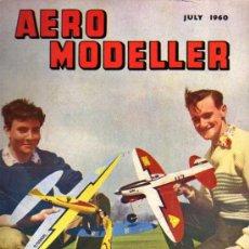 Juguetes antiguos: REVISTA - AERO MODELLER - JULY 1960 - EN INGLÉS. Lote 20932617