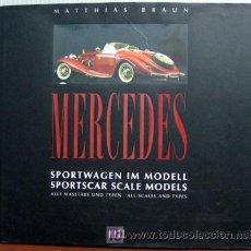 Juguetes antiguos: MERCEDES SPORTWAGEN IM MODELL -- TEXTO EN ALEMAN Y EN INGLES. Lote 26697253