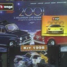 Juguetes antiguos: BBURAGO:: TRES CATALOGOS: 1998,2001 Y 2002 (PERFECTOS). Lote 30588561