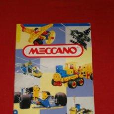 Juguetes antiguos: CATALOGO DE VARIOS MODELOS -- MECCANO -- AÑO 1993. Lote 9148073