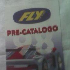 Juguetes antiguos: PRE-CATALOGO FLY DE 1998. PERFECTO DIPTICO A TODO COLOR. Lote 24026946