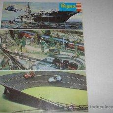 Brinquedos antigos: CATALOGO DE JUGUETES REYNA DEL AÑO 1970. Lote 20564968