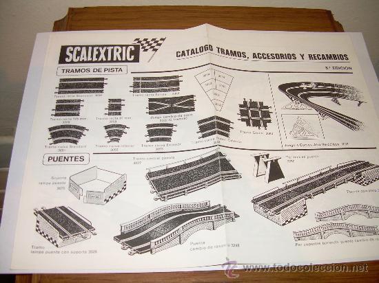 CATALOGO SCALEXTRIC ANTIGUO (Juguetes - Catálogos y Revistas de Juguetes)