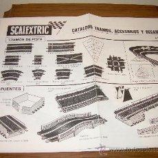 Juguetes antiguos: CATALOGO SCALEXTRIC ANTIGUO. Lote 23080944