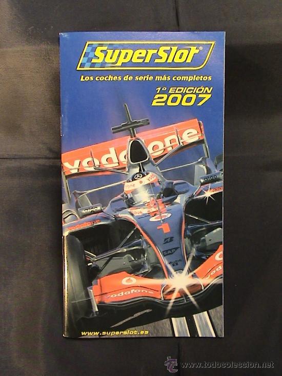 CATALOGO SUPERSLOT 2007 (Juguetes - Catálogos y Revistas de Juguetes)
