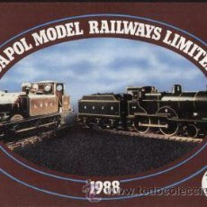 Juguetes antiguos: CATÁLOGO DAPOL MODEL RAILWAYS LIMITED 1988 OO + PRICES. Lote 26783533