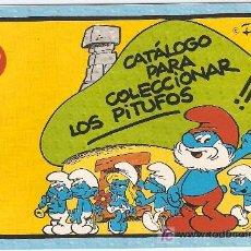 Juguetes antiguos: PITUFOS, SCHLEICH- CATALOGO PARA COLECCIONAR LOS PITUFOS--VELL I BELL. Lote 195144202