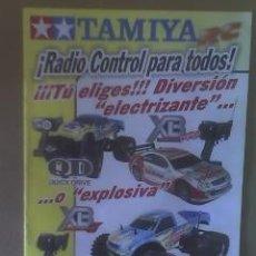 Juguetes antiguos: CATALOGO TAMIYA: RADIO CONTROL (ELECTRICO O GASOLINA)(21 X 15 CMS)(12 PAG)(PERFECTO). Lote 12404307