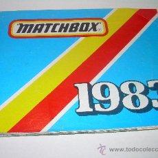 Juguetes antiguos: MATCHBOX CATALOGO 1983. Lote 26555045