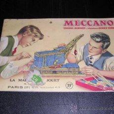 Juguetes antiguos: CATALOGO MECCANO,TRAINS HORNBY.MINIATURES DINKY TOYS-20 PAG. MUY ILUSTRADO,21X13,5 CM.. Lote 13787936