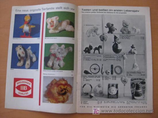 Juguetes antiguos: CATALOGO DE JUGUETES . 1964/ 65 . SPIELWAREN . ALEMAN - Foto 4 - 21446165