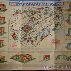 Juguetes antiguos: ANTIGUO CATALOGO DE JUGUETES DE PAYA RAI Nº 2 - FERROCARRILES ELÉCTRICOS Y VIAS AÑOS 50 - BUEN ESTA. Lote 27403690
