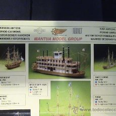 Juguetes antiguos: CATALOGO MAQUETAS MANTUA. Lote 26493791