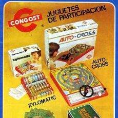 Juguetes antiguos: CATALOGO JUGUETES CONGOST . Lote 14960952