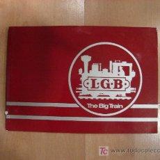 Juguetes antiguos: CATALOGO DE TRENES L.G.B. THE BIG TRAIN. PAGINAS : 161. VER IMAGENES. 21 X 30CM. Lote 23057773