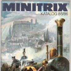 Juguetes antiguos: CATALOGO DE TRENES. MNITRIX. 1985 - 1986. PAGINAS : 83. Lote 20036930