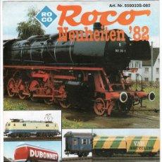 Juguetes antiguos: CATALOGO DE TRENES. ROCO 1982. PAGINAS : 11. Lote 20036932