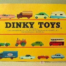 Juguetes antiguos: CATALOGO ORIGINAL, DINKY TOYS, 1950S. Lote 16029900