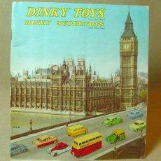 Juguetes antiguos: CATALOGO ORIGINAL, DINKY TOYS, 1950S, RARO. Lote 16029966
