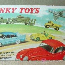 Juguetes antiguos: CATALOGO ORIGINAL, DINKY TOYS, 1950S. Lote 16030044