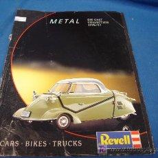 Juguetes antiguos: METAL DIE-CAST COLLECTION 1996/97, CARS.BIKES.TRUCKS, REVELL, COLECCIONISTAS, VER FOTOS. Lote 22422069